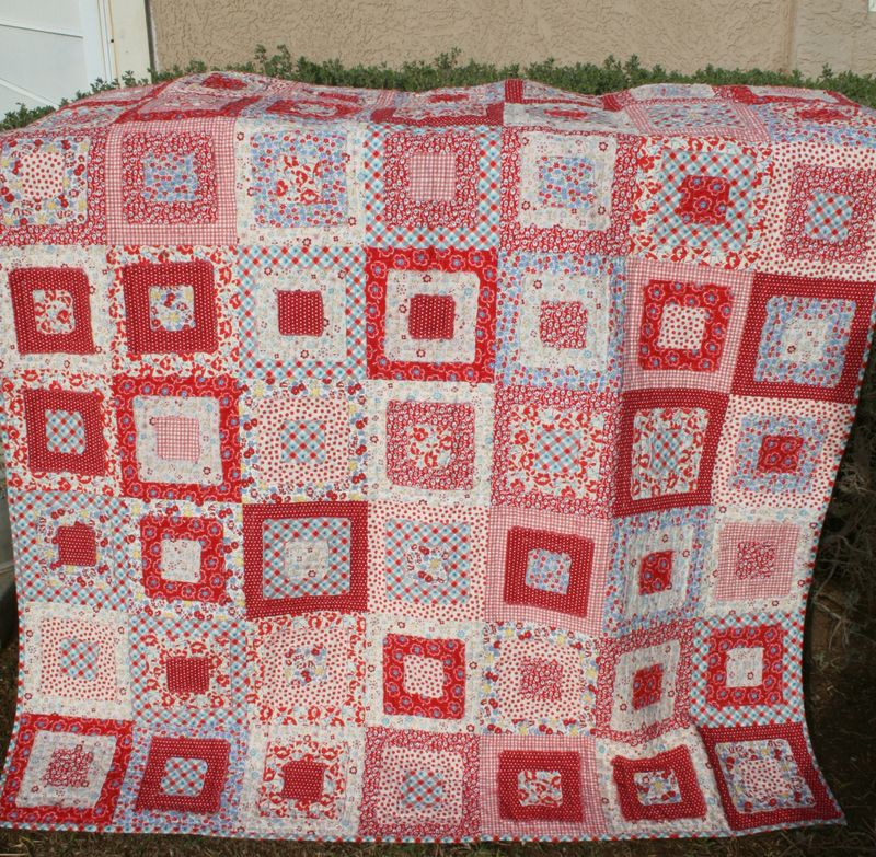 Ragged Edge quilt 002